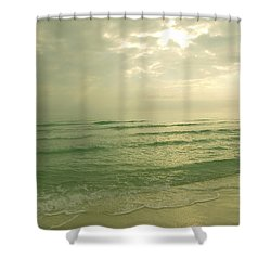 Shower Curtain featuring the photograph Florida Beach by Charles Beeler