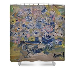 Flow Bleu Shower Curtain