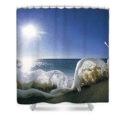 Foam Inertia Shower Curtain