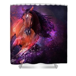 For Life Shower Curtain by Kate Black