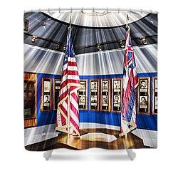 For Valor Shower Curtain by Douglas Barnard