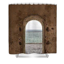 Fort Castillo San Felipe Del Morro Shower Curtain
