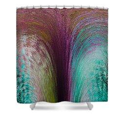 Fountain Art Shower Curtain by David Pyatt