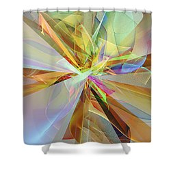 Fractal Fantasy Shower Curtain