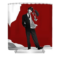 Frank Sinatra Pal Joey Publicity Photo 1957-2014 Shower Curtain by David Lee Guss