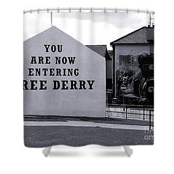 Free Derry Corner 7 Shower Curtain