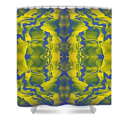 Generations 2 Shower Curtain by J D Owen