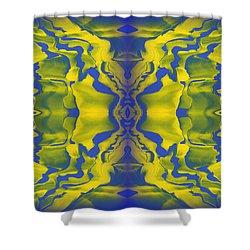 Generations 3 Shower Curtain by J D Owen