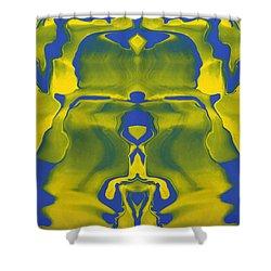 Generations 5 Shower Curtain by J D Owen