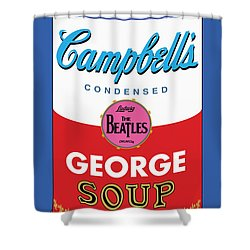 George Shower Curtain