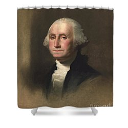 George Washington Shower Curtain by Rembrandt Peale