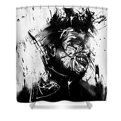 Glasswall Shower Curtain