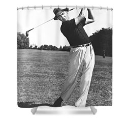 Golfer Sam Snead Shower Curtain