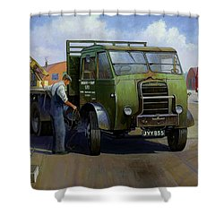 Gpo Foden Shower Curtain