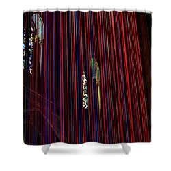 Grace Cathedral With Ribbons Shower Curtain by Dean Ferreira