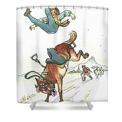 Grimm: Hans In Luck Shower Curtain by Granger