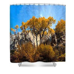 Shower Curtain featuring the photograph Guardians by David Andersen