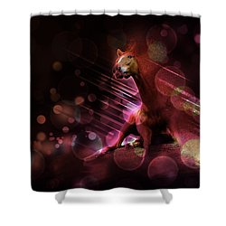 Hallucination Shower Curtain by Kate Black