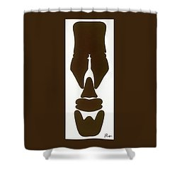 Hamite Male Shower Curtain by Jerry Ruffin