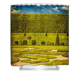 Hampton Court 'the Privy Garden Shower Curtain