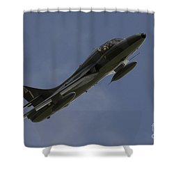 Hawker Hunter Shower Curtain by J Biggadike