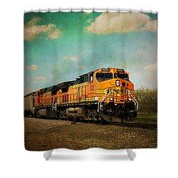 Hear The Train A Coming Shower Curtain