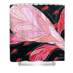 Heartpods Shower Curtain by Kim Sy Ok