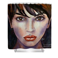 Heaven In Her Eyes Shower Curtain