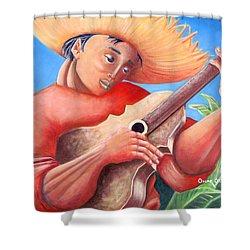 Hidalgo Campesino Shower Curtain