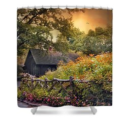 Shower Curtain featuring the photograph Hidden Charm by Jessica Jenney
