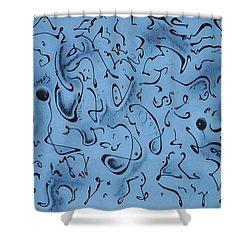 Hidden Shower Curtain by Matthew Blum