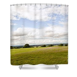Hill Of Tara Shower Curtain