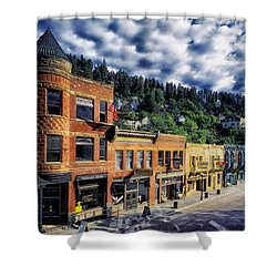 Historic Deadwood Shower Curtain by Mountain Dreams