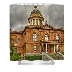 Historic Placer County Courthouse Shower Curtain by Jim Thompson
