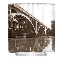 Historic Wil-cox Bridge Shower Curtain by Matt Taylor