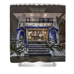 Hitsville Usa Shower Curtain