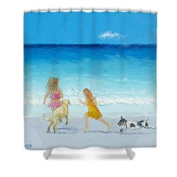 Holiday Fun Shower Curtain