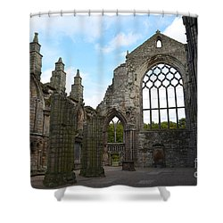Holyrood Abbey Ruins Shower Curtain