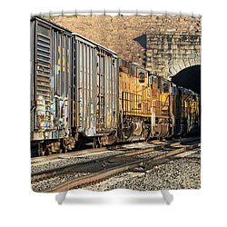 Hp 8717 Shower Curtain by Jim Thompson