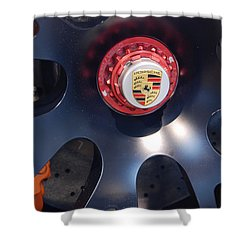 Hybrid Wheel  Shower Curtain