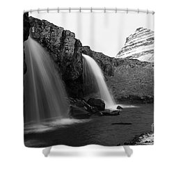 Shower Curtain featuring the photograph Iceland by Mariusz Czajkowski
