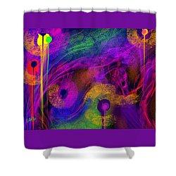 1 In 7 Shower Curtain by Billie Jo Ellis