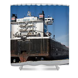 Indiana Harbor 4 Shower Curtain