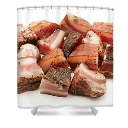 Italian Guanciale Shower Curtain