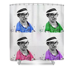 Izzy Shower Curtain by J Anthony