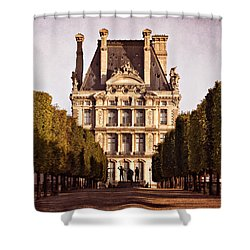 Shower Curtain featuring the photograph Jardin Des Tuileries / Paris by Barry O Carroll