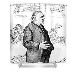 Jean Martin Charcot Shower Curtain by Granger