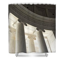 Jefferson Memorial Architecture Shower Curtain