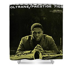 John Coltrane -  Coltrane Shower Curtain