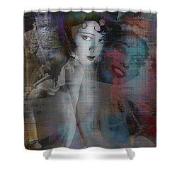 Josephine Baker  Shower Curtain